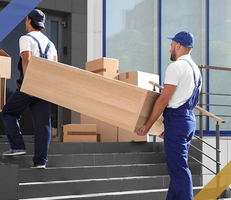 Professional furniture packing and protection